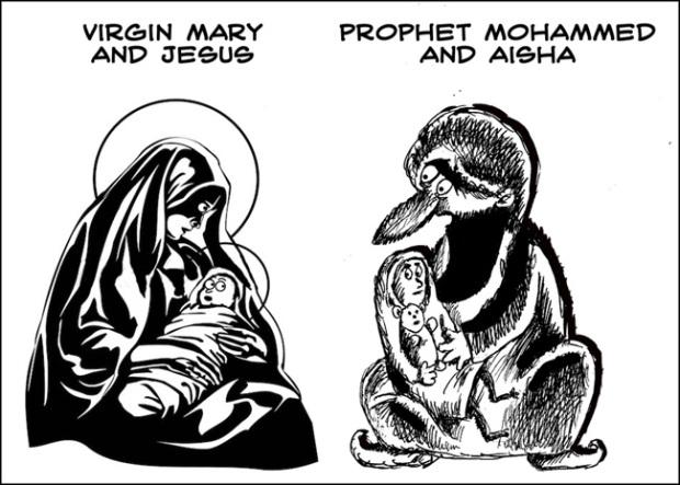 Mary-Jesus-Muhammad-Aïsha